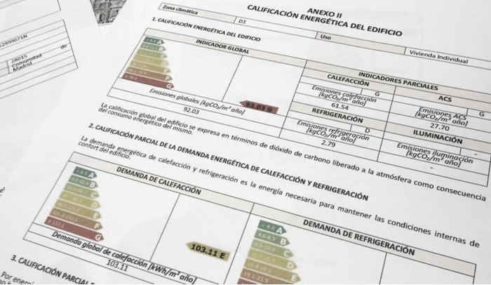 Cédula de habitabilidad + Certificado energético